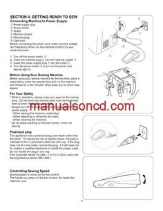 Kenmore 385.18221 Sewing Machine Instruction Manual.  Instruction and user manual for your Kenmore 385.18221 sewing machine. Covers winding the bobbin, threading the machine and more.
