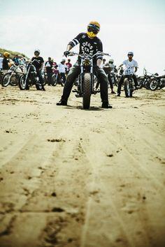 Chirihama Sandflats Speedway, Kanazawa Japan   Deus Ex MachinaDeus Ex Machina