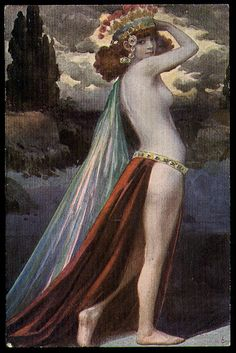 Circe is a witch in Greek mythology.  We wonder what her spells were like and how she invoked the forces?