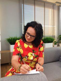 Mój występ w Dzień Dobry TVN i sukienka w cytrynki