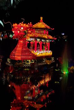 January 2012 –  February 2013: Water Dragon, Chinese Festival of Lights, Canada