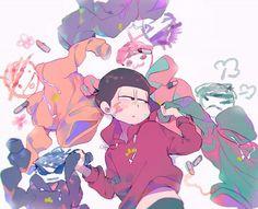 Osoamatsu-san: Osomatsu