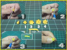 Dollhouse & Miniature Association of Malaysia: The Making of Flower - Narcissus pseudonarcissus can be translated Dollhouse Tutorials, Diy Dollhouse, Dollhouse Miniatures, Miniature Tutorials, Paper Plants, Plant Projects, Minis, Mini Plants, Miniature Plants