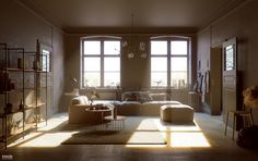 Bokeh, glare... and other sins... by Santiago Sanchez | Architecture | 3D…