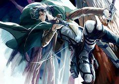 Levi Ackerman, Attack on Titan, Shingeki no Kyojin, Anime, Wallpaper. Levi Ackerman, Armin, Levi X Eren, Mikasa, Manga Anime, Anime Art, Anime Boys, Manga Art, Levi And Erwin