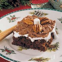 Mississippi Mud Cake from Southern Living. Need since they don't make the mix anymore