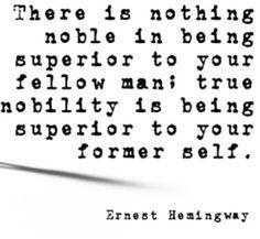 Wow!! ~ Ernest Hemingway