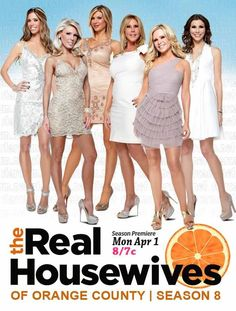 The Real Housewives of Orange County (TV series 2006-2013)  Plot Summary: A look at five families living in a protected Southern California enclave, and the real-life housewives who reside in one of the wealthiest planned communities in the country.  Vicki Gunvalson (85 episodes, 2006-2013) Gretchen Rossi (84 episodes, 2006-2013) Tamra Barney (83 episodes, 2006-2013) Alexis Bellino (70 episodes, 2006-2013) Heather Paige Kent (17 episodes, 2012-2013) Lydia McLaughlin (Season 8-present)