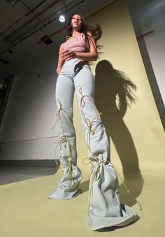 Fashion Details, Diy Fashion, Runway Fashion, Fashion Outfits, Womens Fashion, Fashion Design, Fashion Trends, Mode Streetwear, Mode Outfits