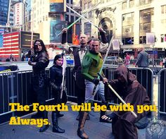 No matter how far from May the Fourth you get... New York Jedi