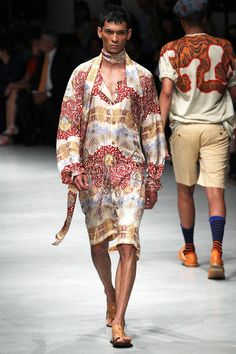 Vivienne Westwood Spring 2014 Menswear Collection Slideshow on Style.com