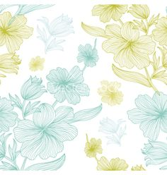 Seamless pattern vector - by Chantall on VectorStock®