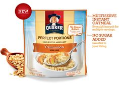 South Suburban Savings: New Coupon: $0.50/ Quaker Perfect Portions ($0.89 At Target!)