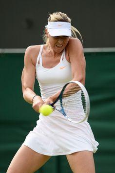 Maria Sharapova. No grunts, no glory.