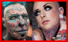 Face Tattoos Piercings For Women, Face Tattoos Piercings For Men Dad Tattoos, Rose Tattoos, Girl Tattoos, Tattoos For Guys, Mermaid Tattoos, Feather Tattoos, Simple Tattoo Fonts, Tree Sleeve, Face Tattoos For Women