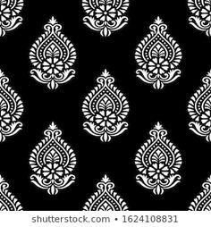 Saree Design Patterns, Textile Pattern Design, Textile Patterns, Textiles, Pattern Art, Sari Design, Textile Prints, Wall Stencil Patterns, Pattern Wallpaper