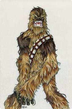 Chewbacca by ~Sweatybuffalo on deviantART