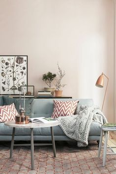Hellgraues Sofa sommerlich living room ideas room ideas and interiors