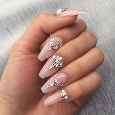 Get the revolutionary PolyGel Nail Kit to have beautiful looking nails for unique you. It is non-acrylic and anti-odor nail kit giving you a unique touch. Gel Nagel Kit, Nagel Gel, Polygel Nails, Nude Nails, Coffin Nails, Acrylic Nails, Marble Nails, White Nails, Gems On Nails