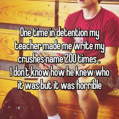 17 Startling Confessions From Teachers In Detention