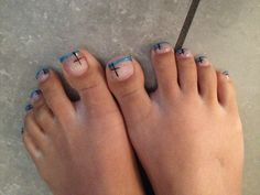 Foot nails art