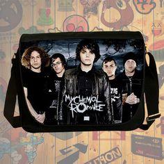 NEW HOT!!! My Chemical Romance Messenger Bag, Laptop Bag, School Bag, Sling Bag for Gifts & Fans #02