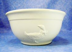 Duck/Goose Mixing Bowl is Off White 2108 by RichardsRarityRealm, $14.00