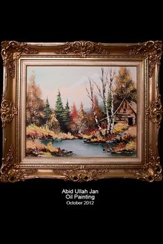 Art Work, Landscape, Frame, Painting, Home Decor, Artwork, Picture Frame, Work Of Art, Scenery