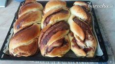 Kysnutý pudingový koláč (fotorecept) - recept   Varecha.sk Hot Dog Buns, Hot Dogs, Bread, Food, Basket, Brot, Essen, Baking, Meals