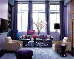 Purple Living Rooms charcoal and purple living room loving this … | decoraÇÃo e