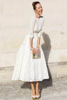 7 Spring 2015 Fashion Trends You Should Follow - Head-To-Toe White