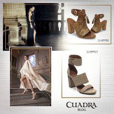 Crea un súper look con #calzado abierto. ¡Aquí te decimos cómo! #blog #tendencias #cuadra