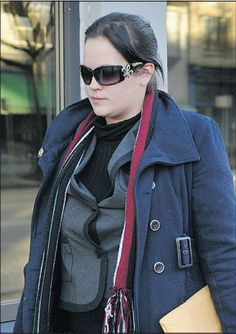 Kathleen Brownell, leaves provincial court in Vancouver on Tuesday. She pleaded guilty to participating in the June 2011 Stanley Cup riot. Stanley Cup, Vancouver, Tuesday, Ray Bans, June, Leaves, News, Style, Fashion