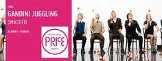 """Smashed"" de Gandini Juggling. Teatro Circo Price (Madrid)"