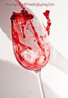 Wine looks as good as it tastes. Pouring Wine, Wine Glass, Alcoholic Drinks, Tableware, Food, Dinnerware, Tablewares, Essen, Liquor Drinks