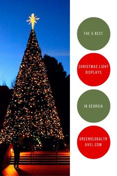 With Christmas approaching, learn more about the best Christmas Light Displays in Georgia!