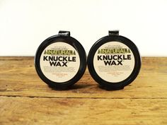 Knuckle Wax (2) Knuckle & Elbow Balm for Hard Working Hands$9.95, via Etsy.