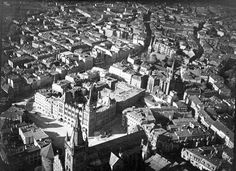 Königsberg city (East Prussia) center before war. None of the buildings in the photo exist today. Photo taken circa 1932.> www.flickr.com/photos/27639553@N05/5302900112/