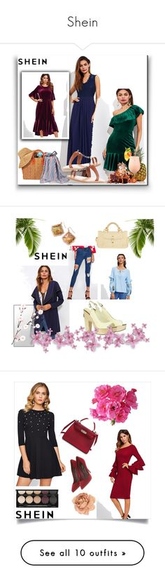 """Shein"" by ajisa-ikanovic ❤ liked on Polyvore featuring Dolce Vita, Bobbi Brown Cosmetics, Who What Wear and Hourglass Cosmetics"