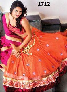 cd33bc049c Designer Lehenga Choli 1712 Party Wear Sarees Online, Lehenga Online,  Lehenga Choli, Bollywood