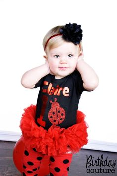 Hey, I found this really awesome Etsy listing at http://www.etsy.com/listing/98450069/sweet-little-ladybug-tutu-onesie-red-and