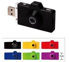 Camera flash drive