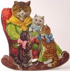 THREE LITTLE KITTENS a