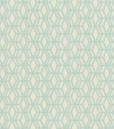 A decorative geometric design defined by simplicity and symmetry. Add a contemporary look to your room using this durable fabric for your projects to complement your home décor theme.  Content: 69% Po