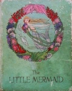 Rie Cramer illustrations Mermaid Pictures, Real Mermaids, Aqua Color, Vintage Children's Books, Applique Patterns, Sirens, The Little Mermaid, Book Covers, Childrens Books