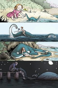 Monsters And Dames 2010 by Tallychyck (deviantART) awww!!!