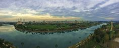 The panoramic view of the Sheraton Club is just great! Lounge, River, Club, World, Outdoor, Airport Lounge, Outdoors, Drawing Rooms, Lounges