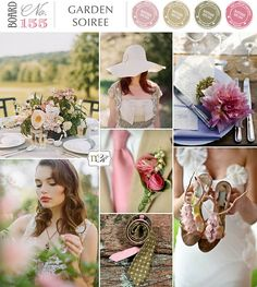 Wedding colour palette. Country sage greens and pastel pinks. @Edithza Herrera - you can definitely add navy to this!