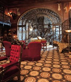 architecture Interior Design steampunk victorian haunted mansion steam punk steampunk tendencies