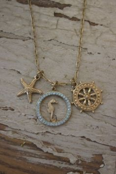 seaside necklace by jeanette